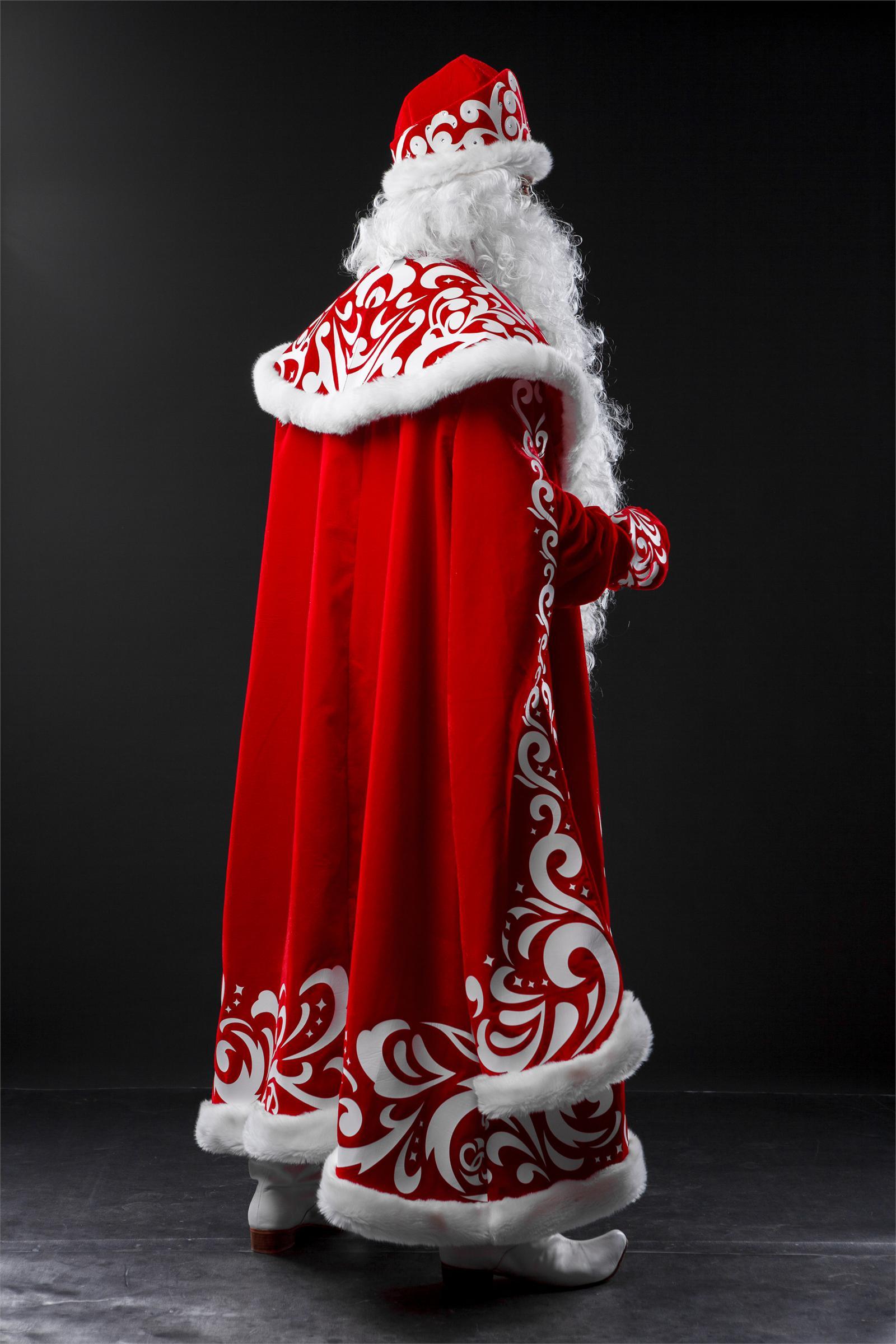 Современный костюм деда мороза своими руками